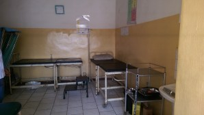 The Labour room at the Abaji Township PHC